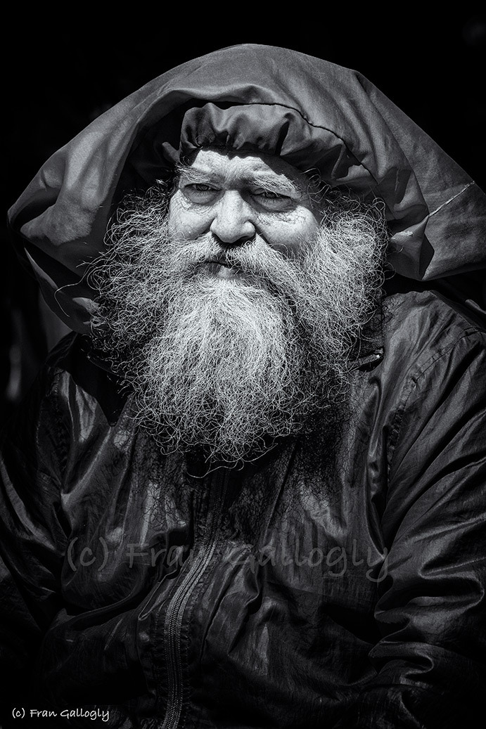 Elderly man in New York City