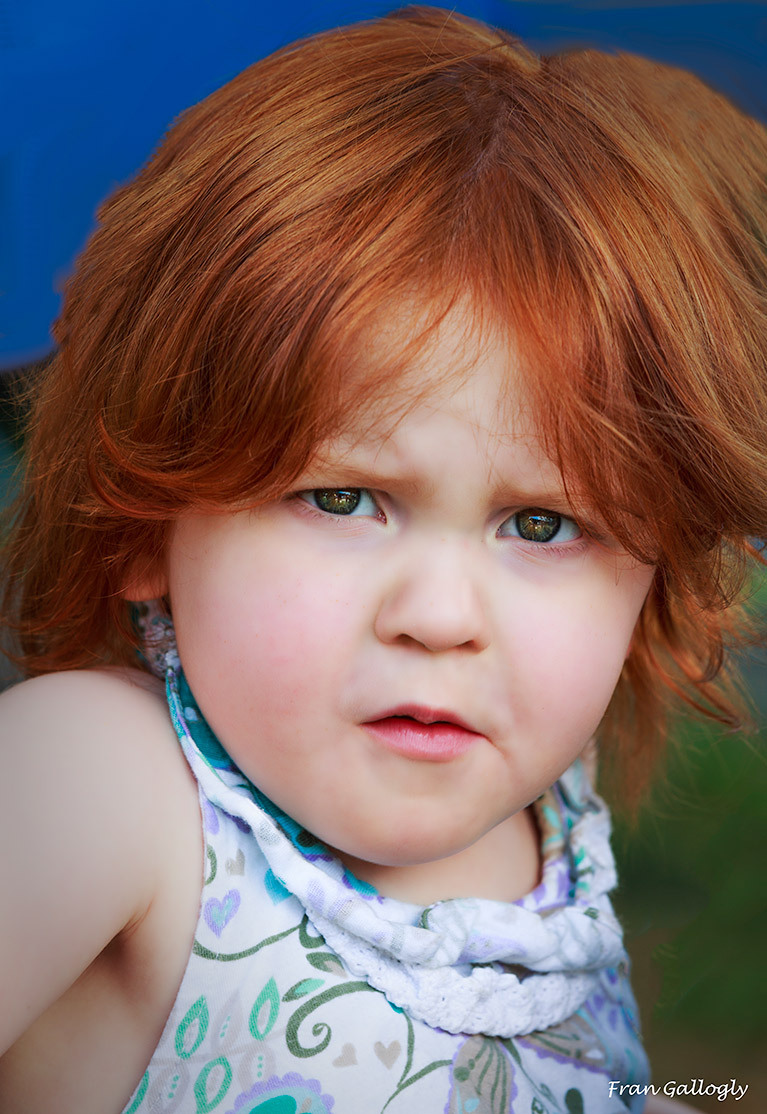 Red Headed Beauty at the Blueberry Festival