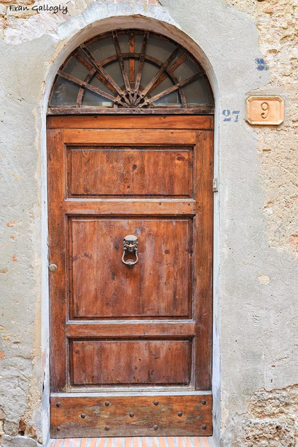 Old Door, San Gimignano, Tuscany