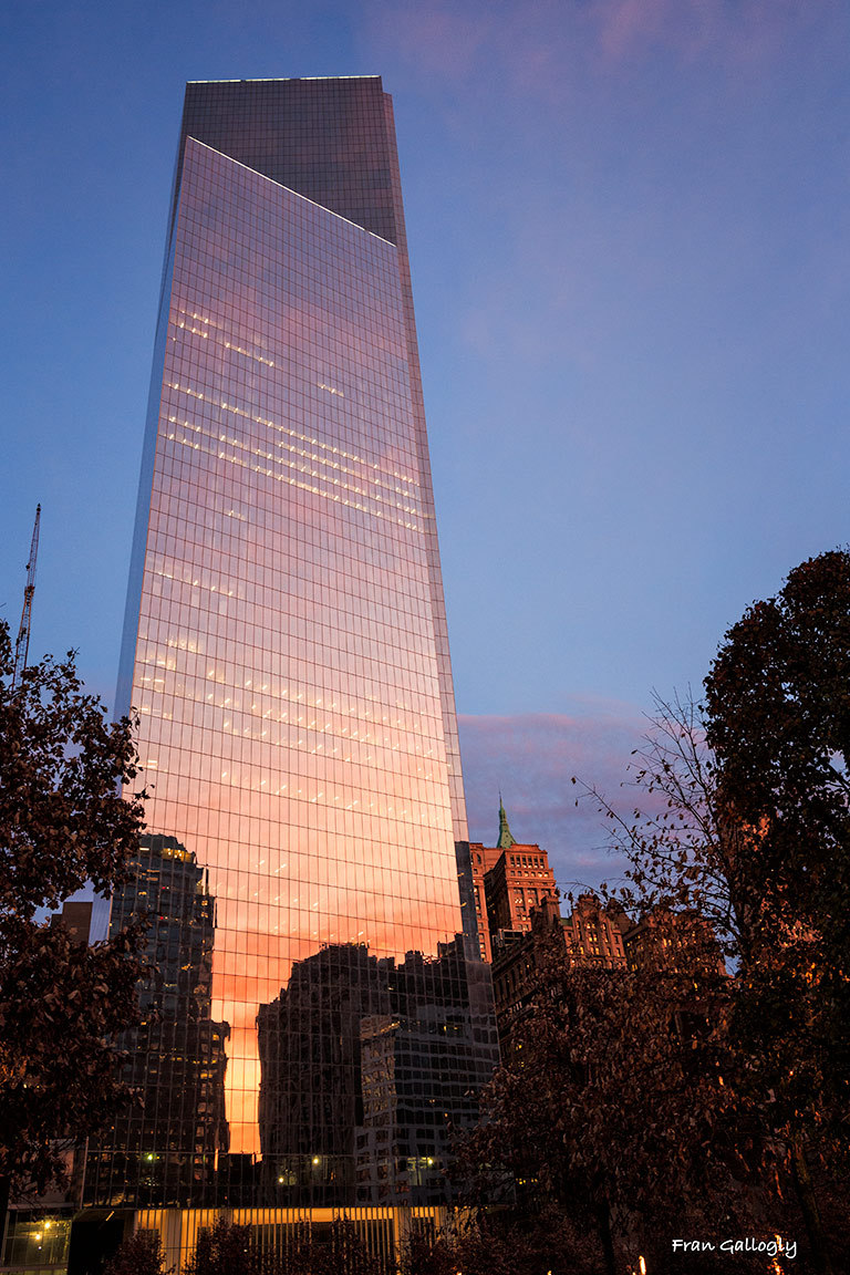 Four World Trade Center at Dusk