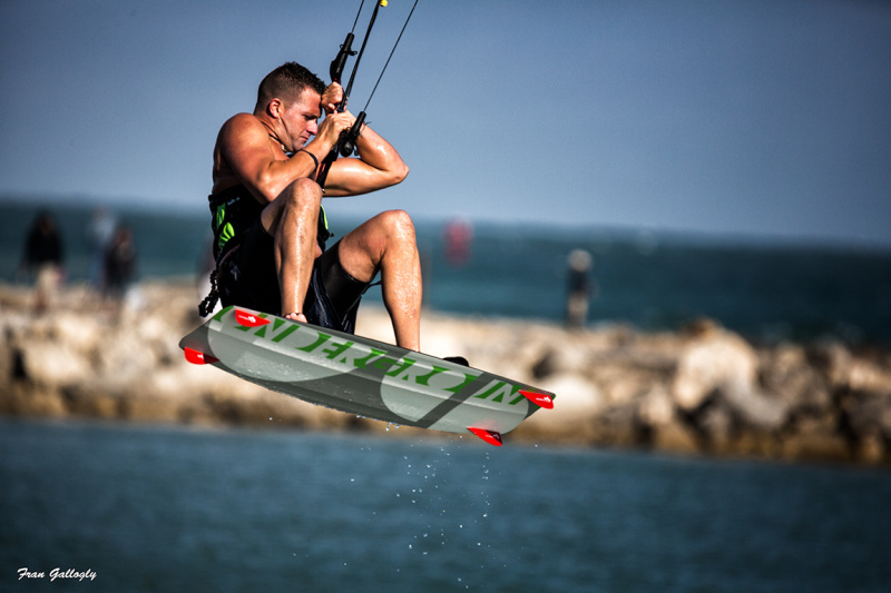 Kite Surfer takes to the air