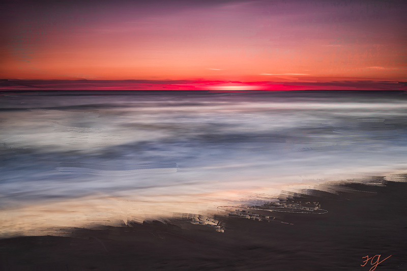 Twilight, Pepper Beach