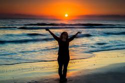 Greeting the Sunrise