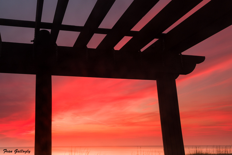 Sunrise at the Gazebo