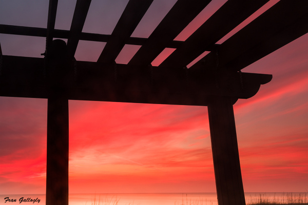 Sunrise at the Gazebo