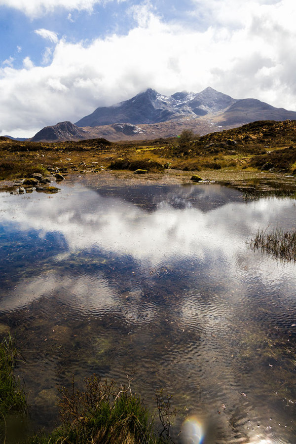 Sligachan River and Cullin Mountains