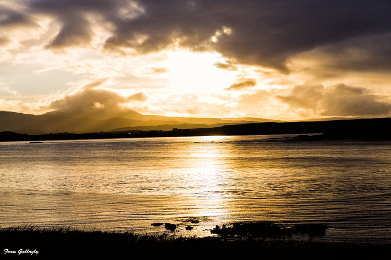 Sunset, Loch Bracadale