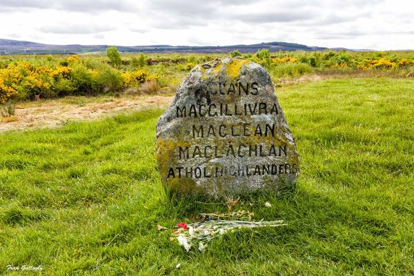 Clan Memorial Marker, Culloden Battlefield