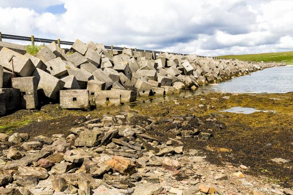 Churchill Barriers, Scapa Flow, Orkney, Scotland