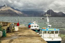 Harbor at Elgol, Isle of Skye