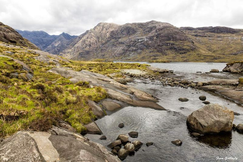 Loch Coruisk in the Cullin Mountains