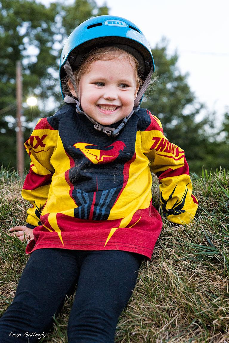 Young BMX Racer