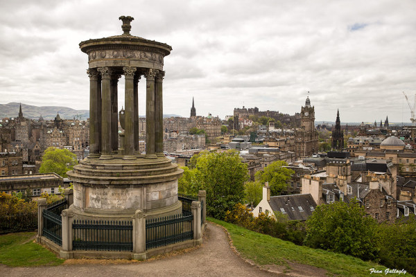 Calton Hill View