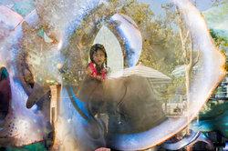 Futuristic Sea Glass Carousel