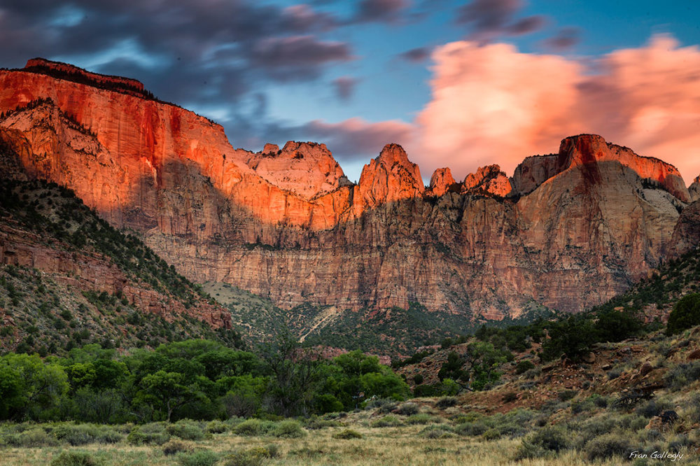 Sunrise, Zion National Park