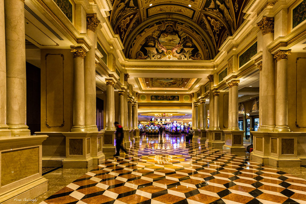 Lobby, Venetian Hotel and Casino
