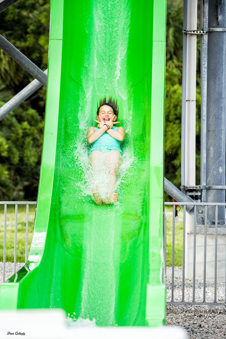 Down the Water Slide