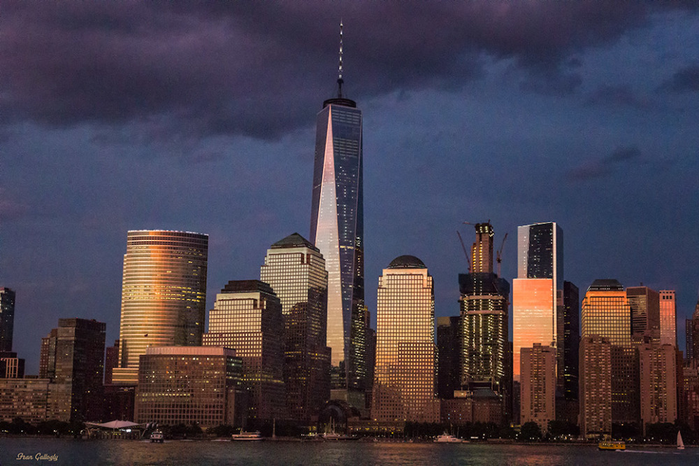 Night in Lower Manhattan