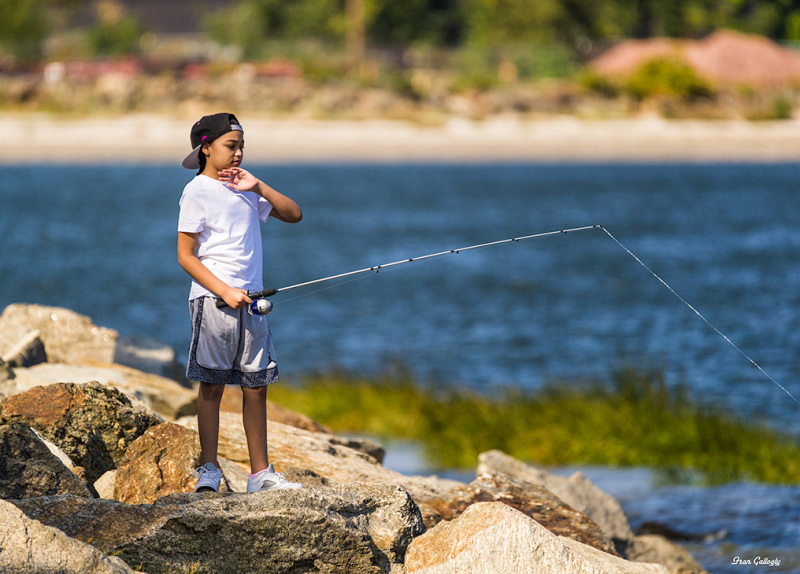 Child Fishing