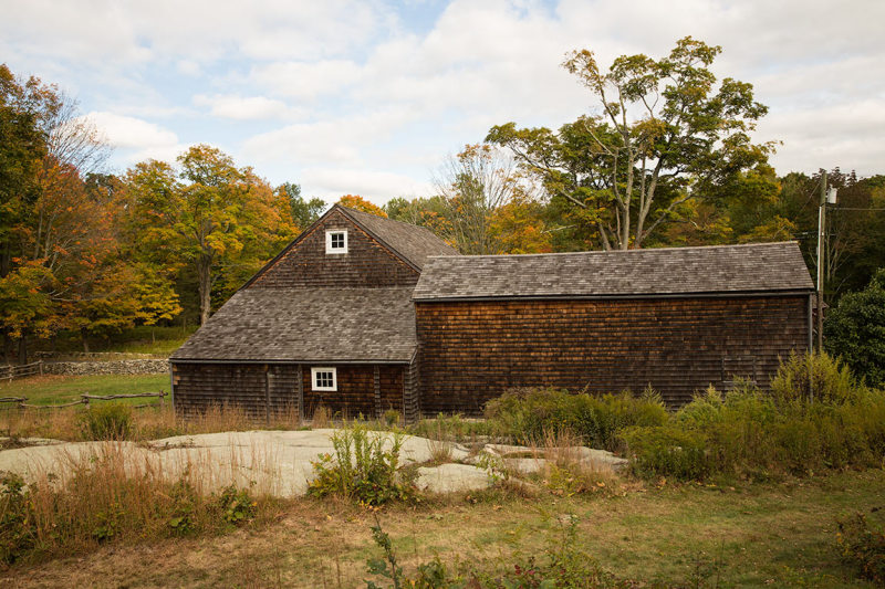 Barn at Weir Farm