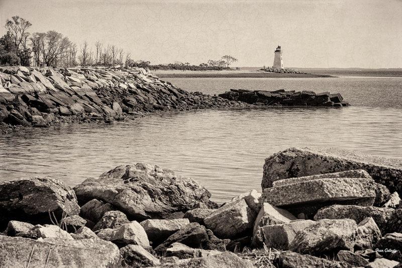 Black Rock Harbor lighthouse, Bridgeport, CT