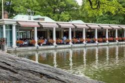Loeb boathouse in NY's Central Park