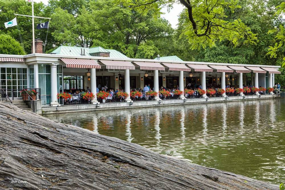 Loeb boathouse in NY's Central Park