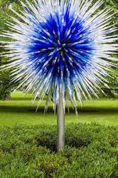 Chihuly glass tree at NY Botanical Garden