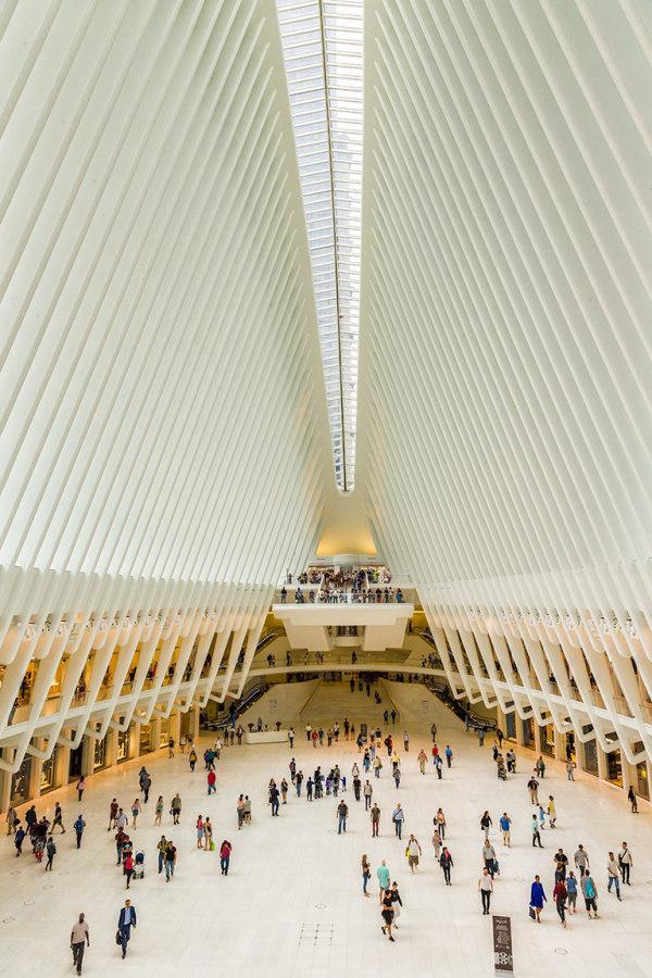 Oculus of the World Trade Center Transportation Hu