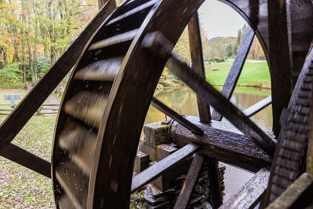 Mabry Mill Water Wheel, Blue Ridge Parkway VA