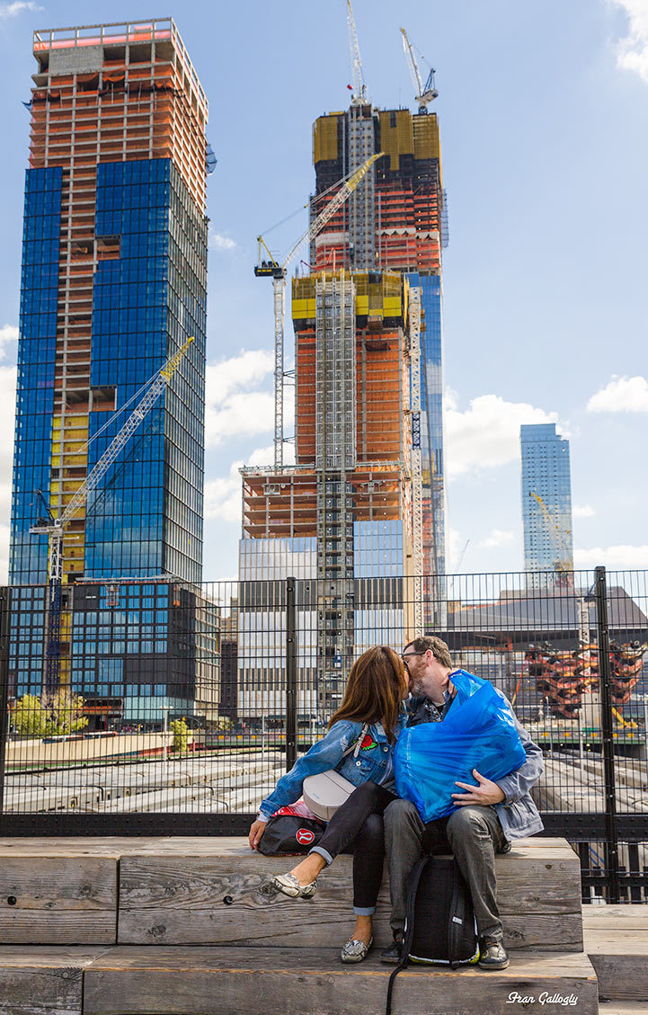 Lovers, Hudson Yards, High Line, NYC
