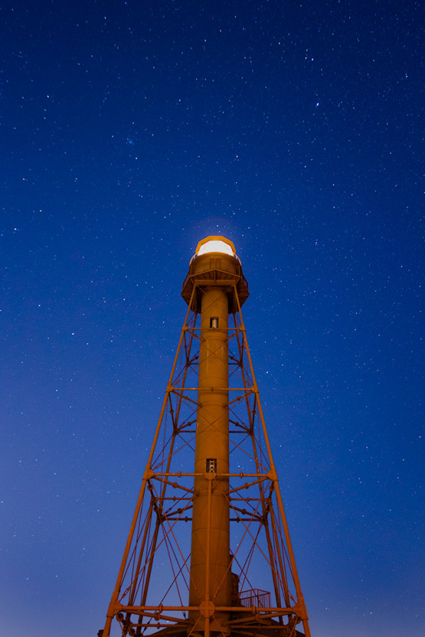 Starry Night at the Lighthouse,Sanibel Island, FL