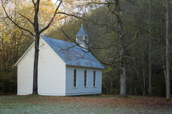 Palmer Chapel, Great Smoky Mountains National Park
