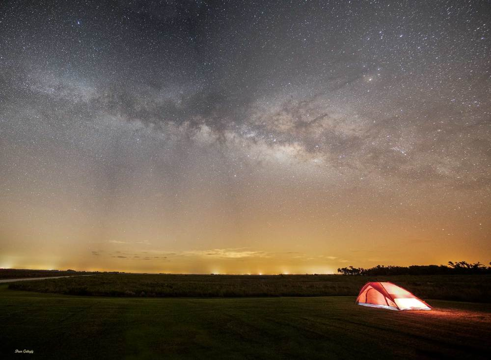 Camping Under the Milky Way at Kissimmee Prairie S