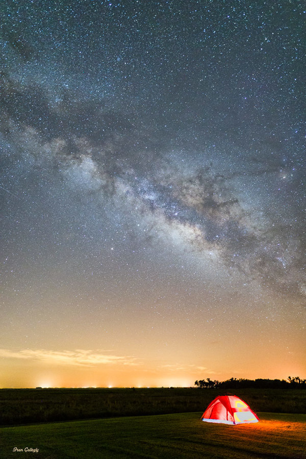 Milky Way at Kissimmee Prairie, Florida