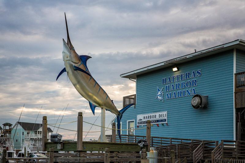 Hatteras Harbor Marina, Outer Banks NC