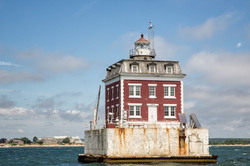 Ledge Lighthouse, Groton, CT