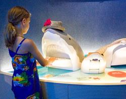 Sharks Teeth Exhibit, NY Aquaium, Coney Island, NY