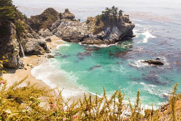 McWay Falls at Julia Peiffer Burns State Park, Big