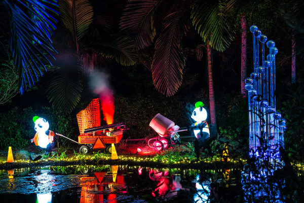 Nights of lights at McKee botanical garden,vero be