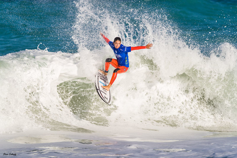 Competitor in the Pro Surf 2019 competition at Seb