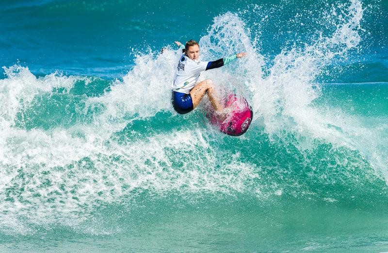 Surfer at Florida Pro Surf,Sebastian Inlet