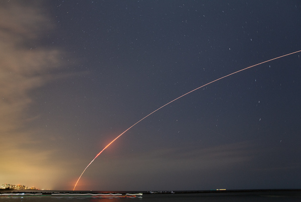 Delta IV Launch at Cape Canaveral