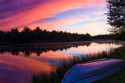 Sunset, Ulster Heights Lake, Ellenville NY