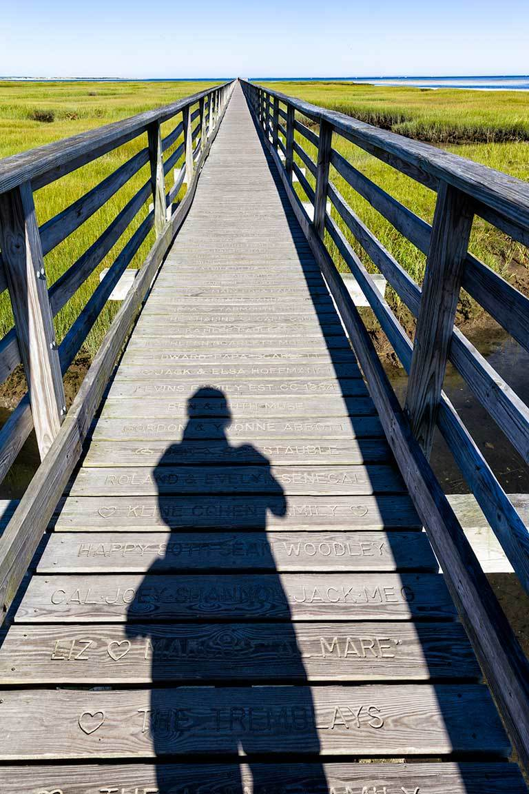 Selfie at Bass Hole Boardwalk, Cape Cod
