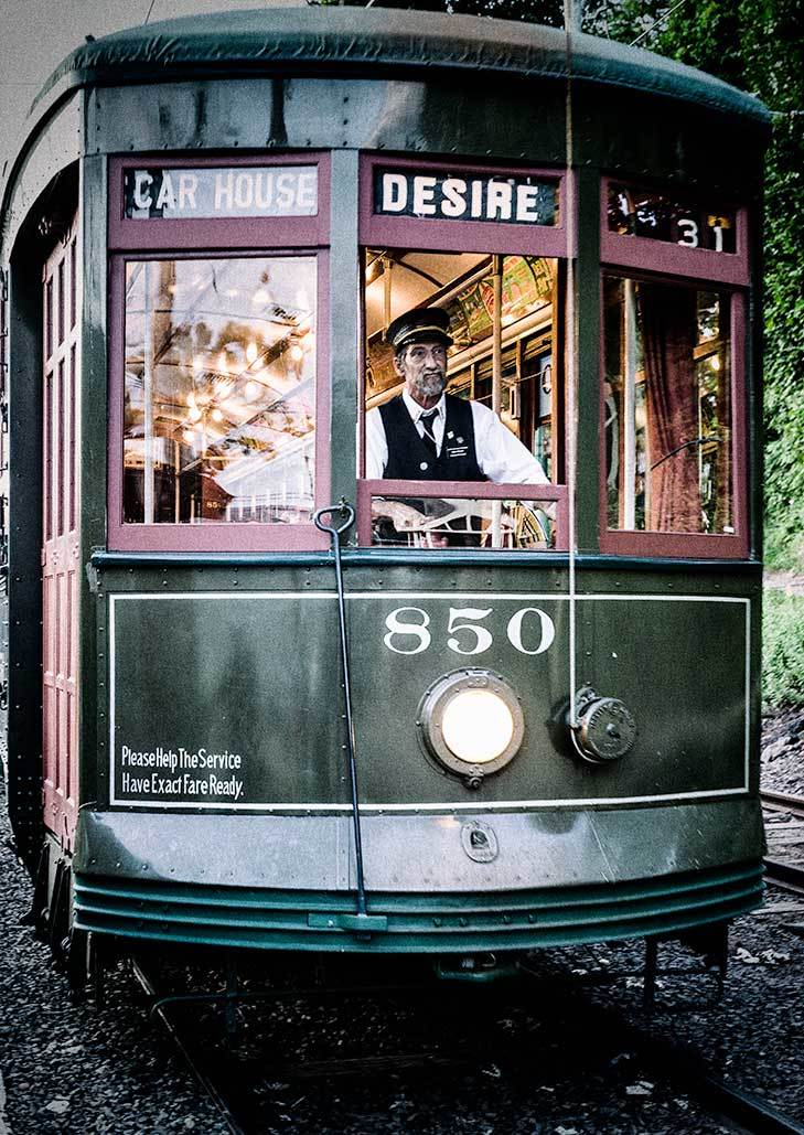 Streetcar named desire, shoreline trolley museum,