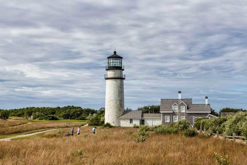 Highland Lighthouse on Cape Cod