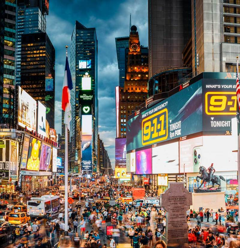 Times Square After Dark