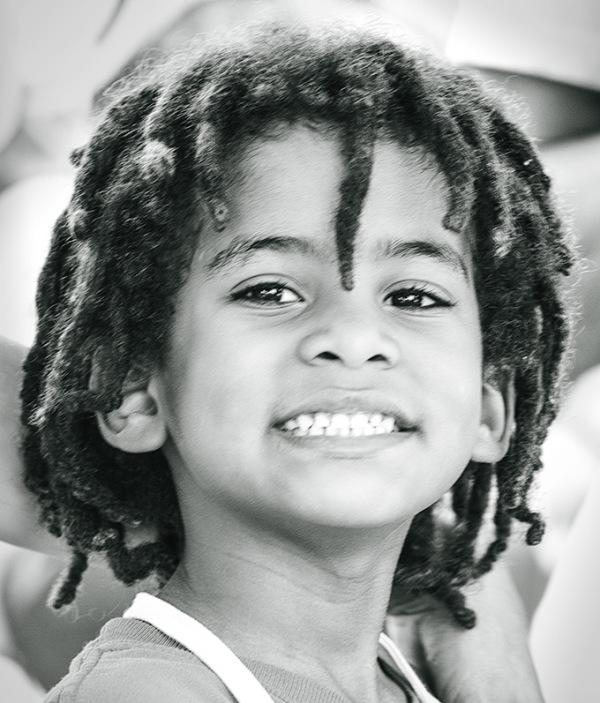 Boy at lemonade stand, fl