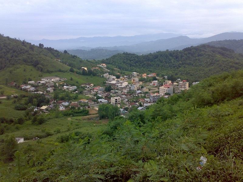 دهکده ای در دل رشته کوه